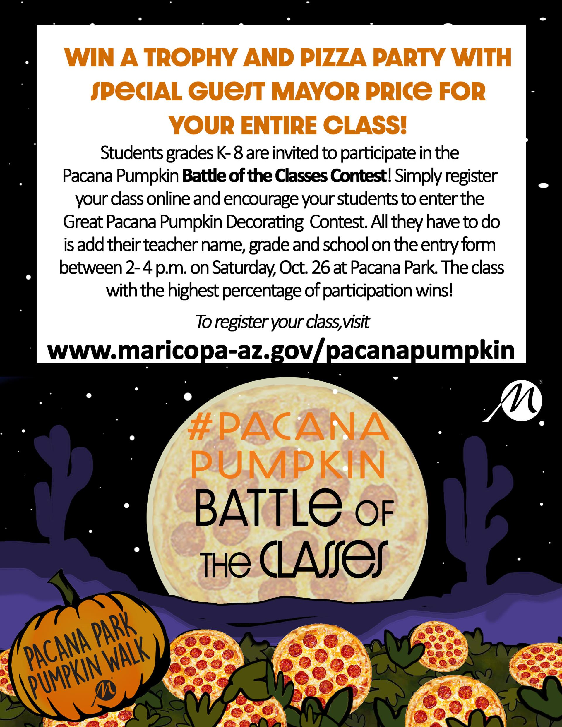 Battle of the Classes 8.5x11 flyer