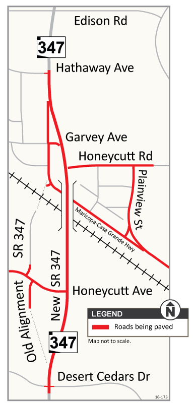 Final SR 347 Paving Map