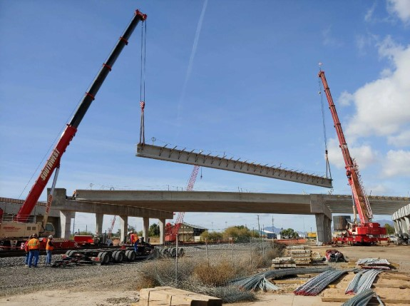 Initial Overpass Deck Pour Pushed to Thursday, April 25